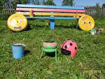 Поделки для площадки детского садика