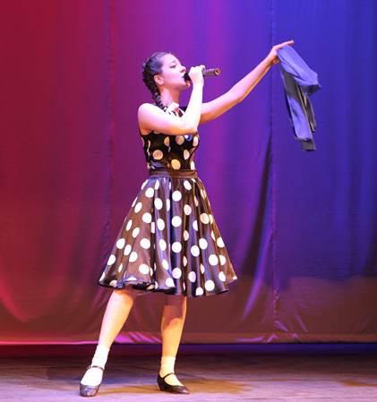 Синий платочек танец платье